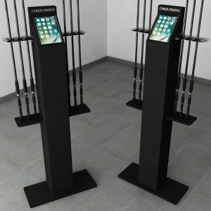 MINI PILLAR DISPLAY 6 RODS IPAD SUPPORT