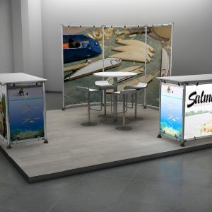 SHOW STAND DISPLAY 3X3 04