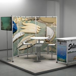 SHOW STAND DISPLAY 3X3 04-01