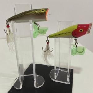 PLEXI PILLAR LURE HOLDERS